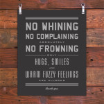 No-whining
