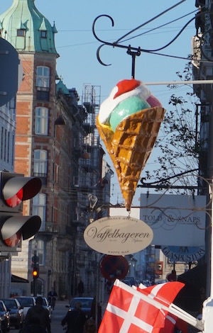 Lots of ice cream. Lots and lots and lots, and always with waffle cones.