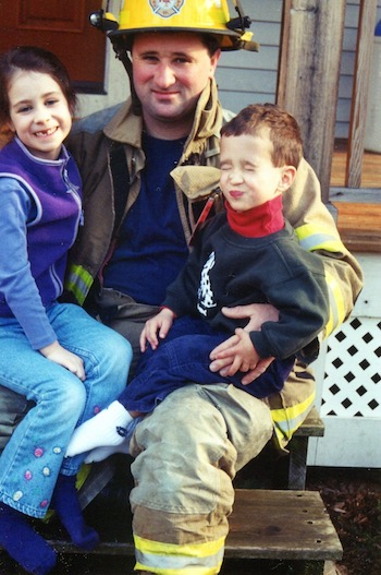 firefighter daddy