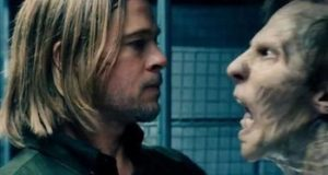 Which is scarier: the zombie, or Brad Pitt's Little Dutch Boy haircut?